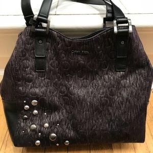 Calvin Klein Bag with matching keychain